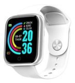Relógio smartwatch d20 batimento cardíaco monitor saúde