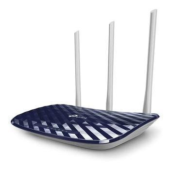 Roteador tp link wireless wifi dual band ac 750 archer c20 -