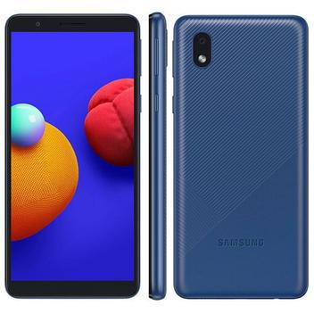 Smartphone galaxy a01 core azul samsung - Samsung Galaxy -