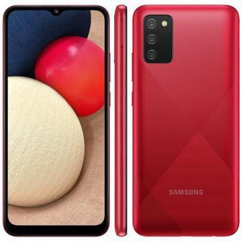 Smartphone galaxy a02s vermelho samsung - Galaxy A02s -