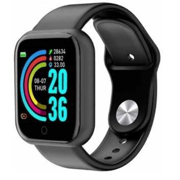 Smartwatch d20 relógio inteligente monitor saúde bluetooth