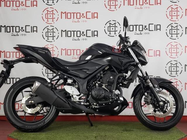 Yamaha mt 03 abs 2017 2018 preta