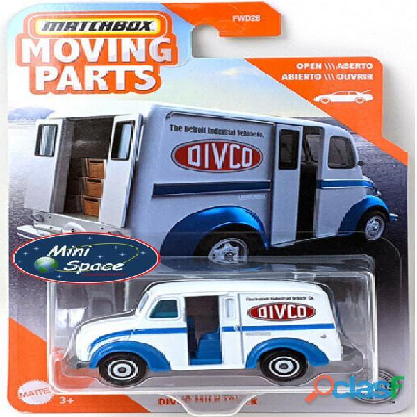 Matchbox Divco Milk Truck cor Branco 1/64 1