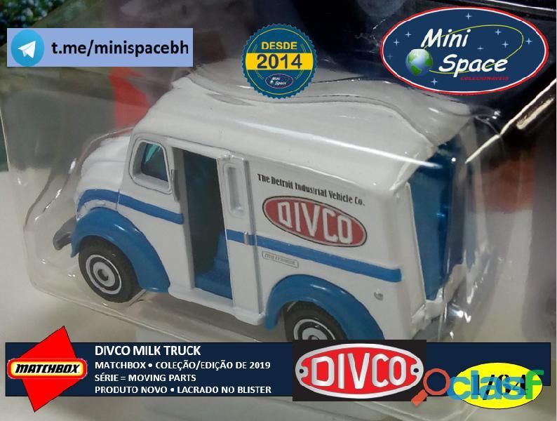 Matchbox Divco Milk Truck cor Branco 1/64 3
