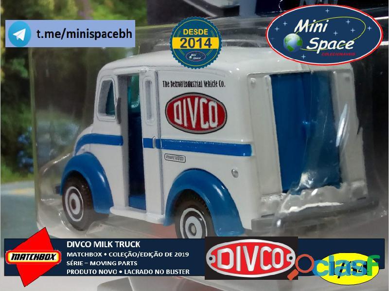 Matchbox Divco Milk Truck cor Branco 1/64 7
