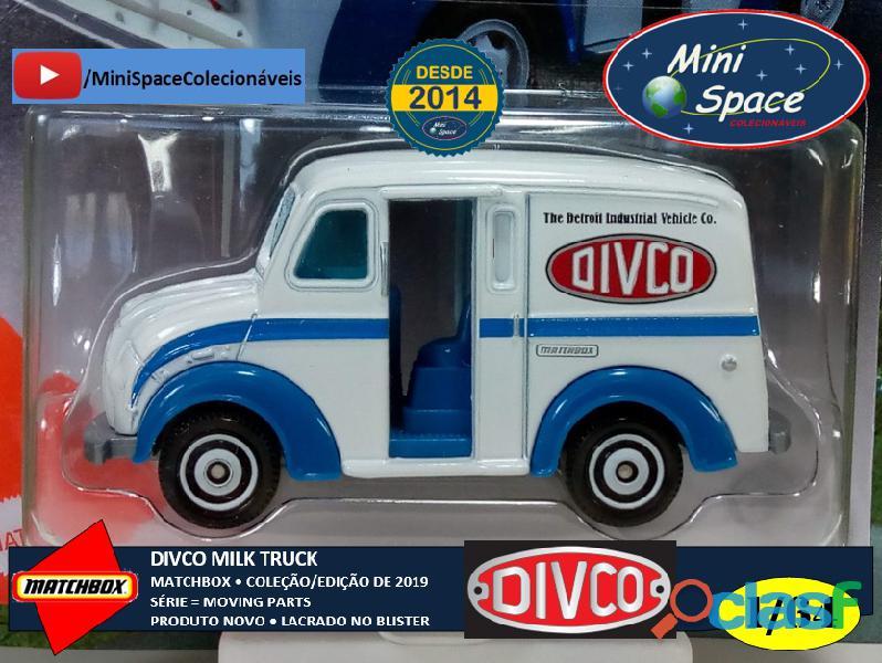 Matchbox Divco Milk Truck cor Branco 1/64 9