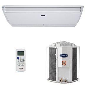 Ar condicionado split piso teto carrier 46.000 btus quente e