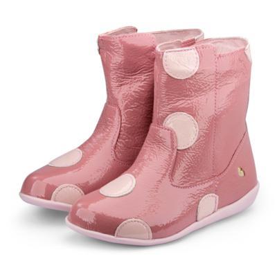 Bota infantil bibi rosa com bolinhas rainbow 1089015 27