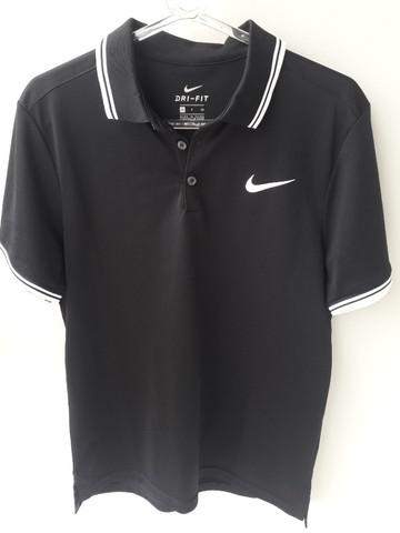 Camisa Polo Nike Court Preta