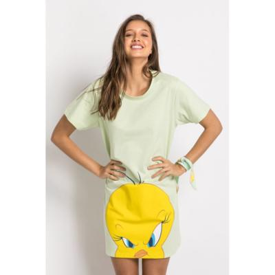 Camisola manga curta acuo camisola manga curta verde