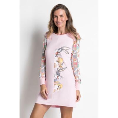 Camisola manga longa acuo camisola manga longa rosa