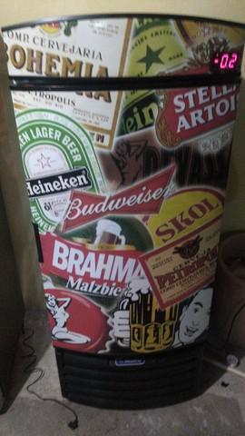Cervejeira metal frio
