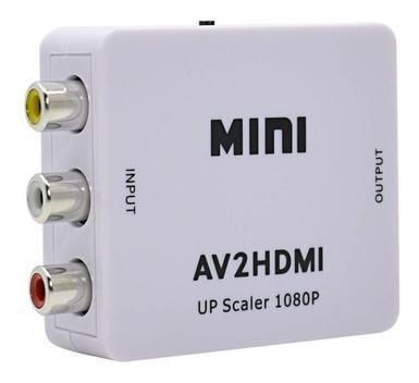 Conversor adaptador video composto 3 rca av p/ hdmi - box7 -