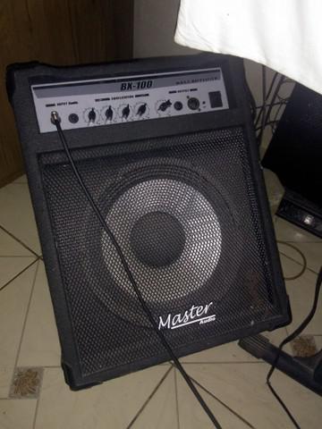 Cubo master áudio bx100 pra contra baixo
