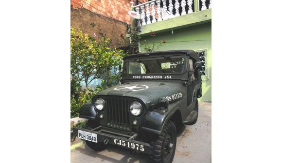 Ford jeep willys 2.0 cj5 75/75 verde