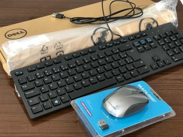Kit Teclado + Mouse Óptico ** Parcelo **