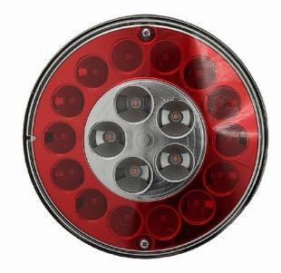 Lanterna 19 leds facchini freio e ré - bivolt