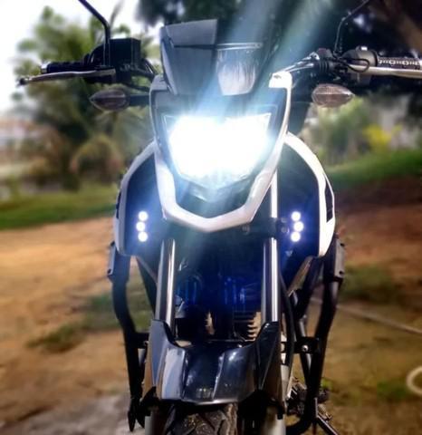 Lâmpadas de super led motos