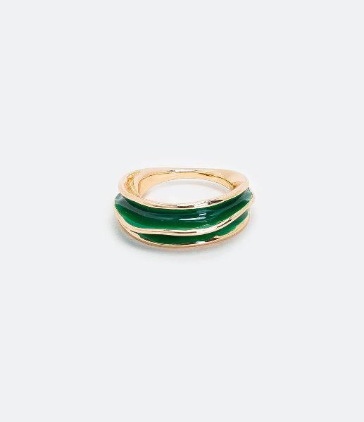 Maxi anel pintado orgânico