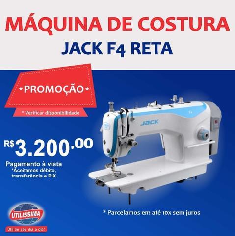 Máquina de costura reta industrial jack f4