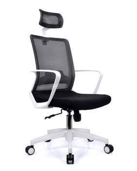 Cadeira de escritório executiva luxo branca toronto