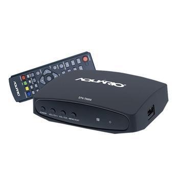 Conversor digital aquario dtv-7000s gravador tv digital -