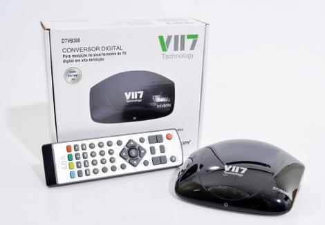 Conversor e gravador de tv digital full hd vii7 - conversor