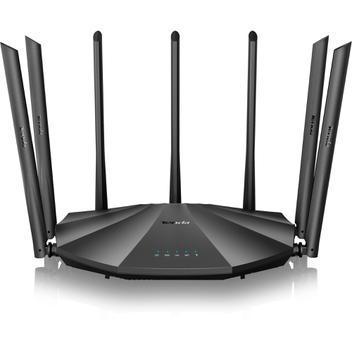Roteador wireless gigabit 1200mbps dual band ac23 preto