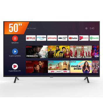 Smart tv android 50'' led 4k uhd panasonic tc-50hx550b 3