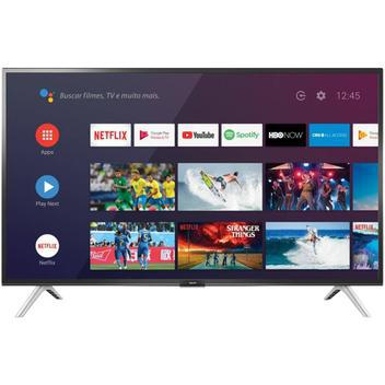 Smart tv android led 32 semp l32s5300s bluetooth 2 hdmi 1