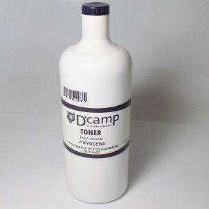 Toner pó refil para kyocera monocromatica - 1 kilo - dcamp