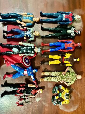 Bonecos super heróis original