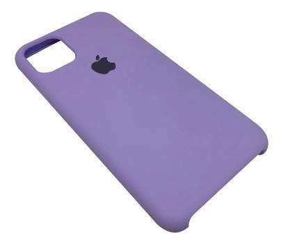 Capa case para iphone 11 em silicone - branca - rei das