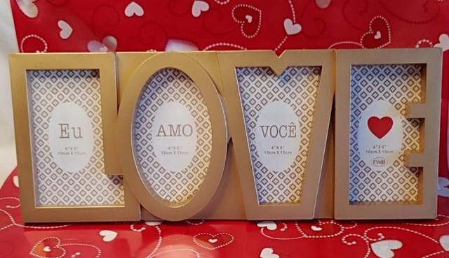 Dia dos namorados - porta-retrato love