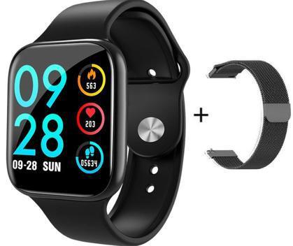 Relógio inteligente smartwatch p80 esportes monitor de