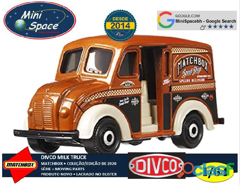 Matchbox Divco Milk Truck cor Marrom 1/64