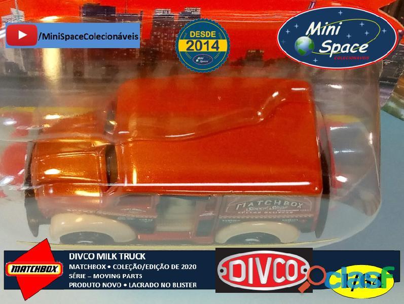 Matchbox Divco Milk Truck cor Marrom 1/64 11