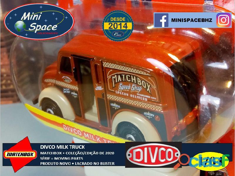 Matchbox Divco Milk Truck cor Marrom 1/64 10