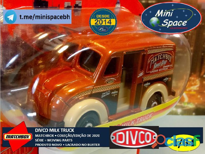 Matchbox Divco Milk Truck cor Marrom 1/64 9