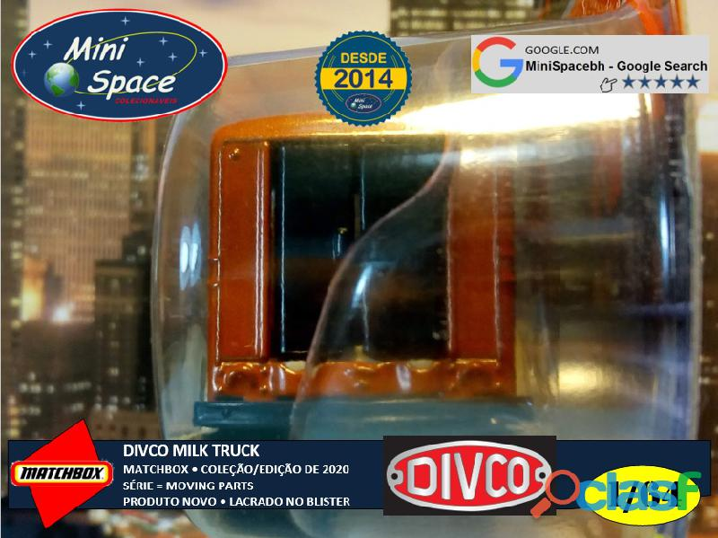 Matchbox Divco Milk Truck cor Marrom 1/64 8