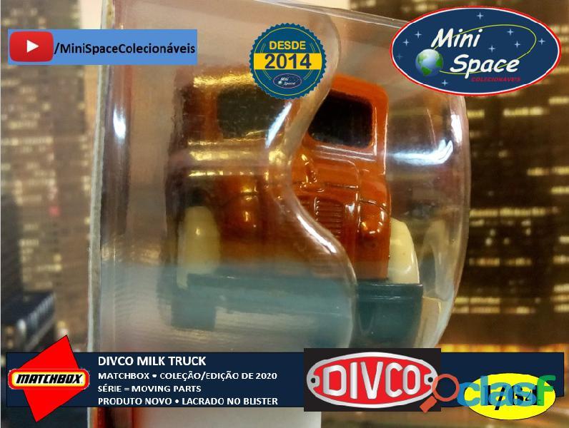 Matchbox Divco Milk Truck cor Marrom 1/64 7