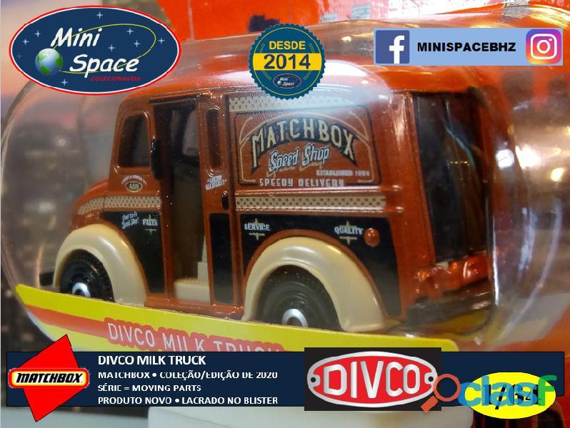 Matchbox Divco Milk Truck cor Marrom 1/64 6