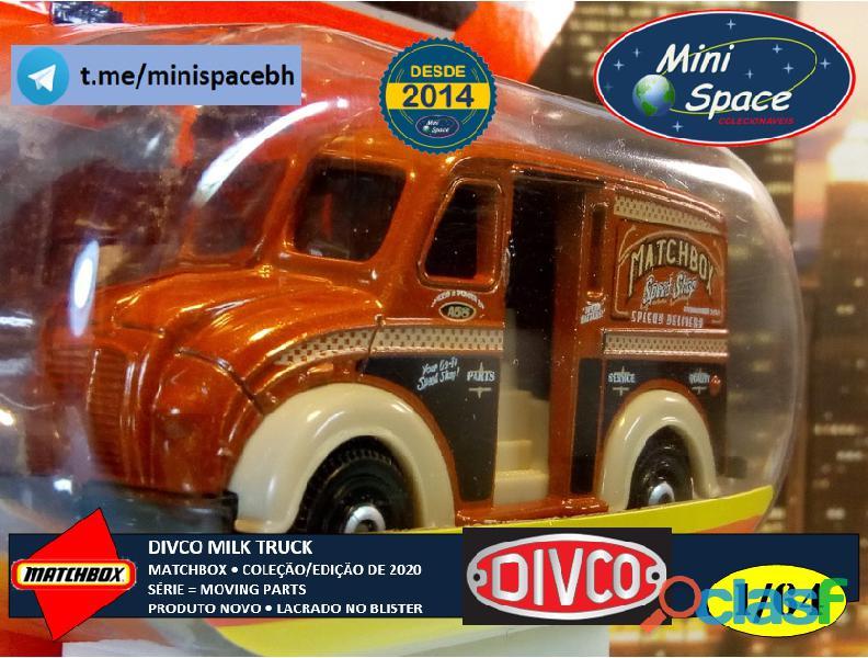 Matchbox Divco Milk Truck cor Marrom 1/64 5