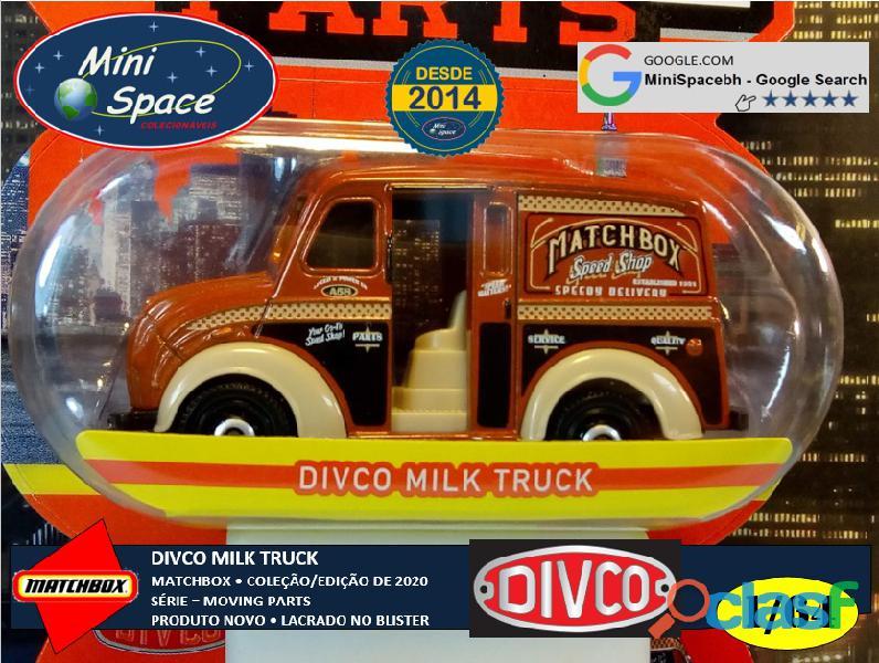 Matchbox Divco Milk Truck cor Marrom 1/64 4