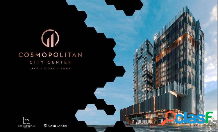 Oficinas en venta en en cosmopolitan city center tijuana