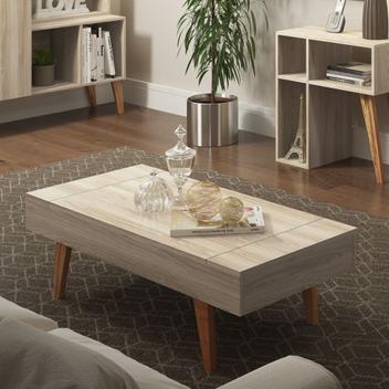 Mesa de centro com tampo basculante 100cm 1002 leaves be