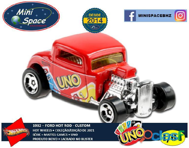 Hot Wheels 1932 Ford Hot Rod Mattel Uno 1/64