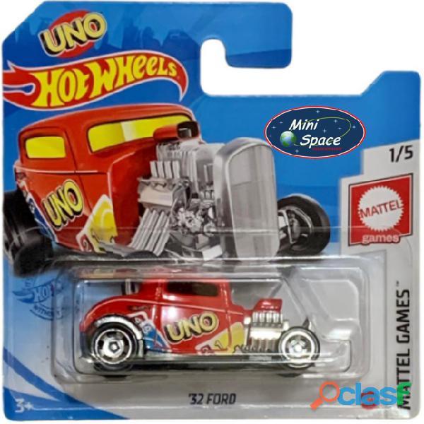 Hot Wheels 1932 Ford Hot Rod Mattel Uno 1/64 1