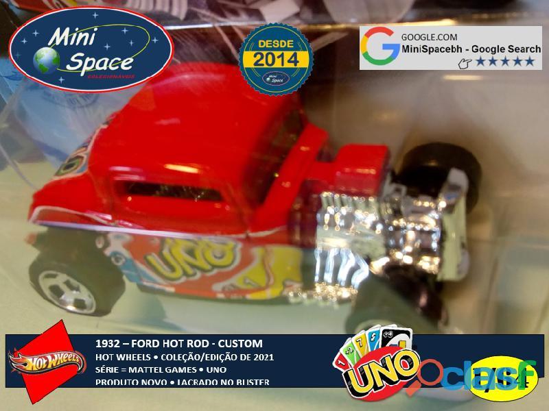 Hot Wheels 1932 Ford Hot Rod Mattel Uno 1/64 3