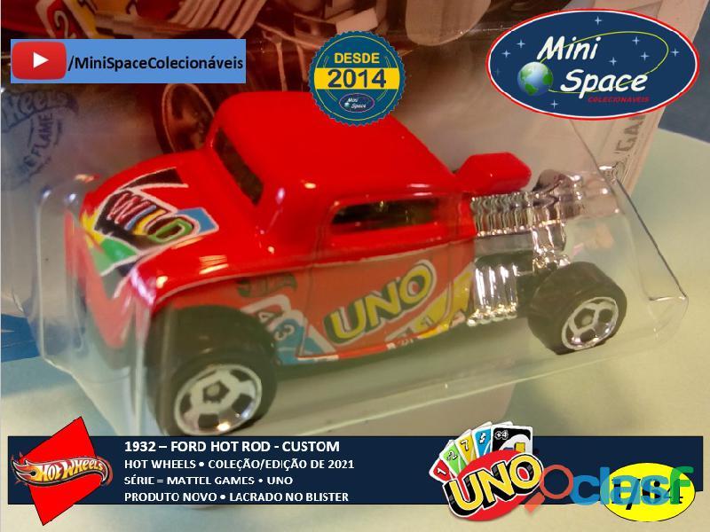 Hot Wheels 1932 Ford Hot Rod Mattel Uno 1/64 4